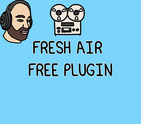 Fresh Air by Slate Digital is a free plugin that you need to download.