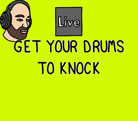 Learn how to make your drums knock in Ableton