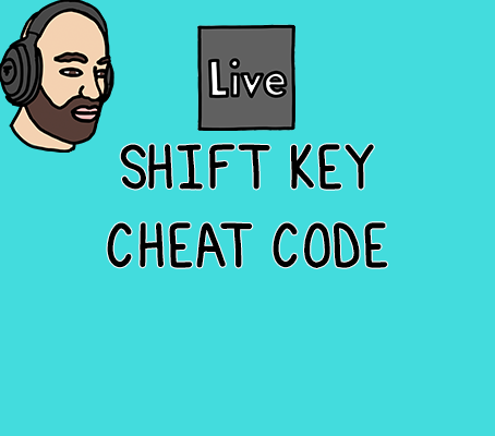 Using the shift key in Ableton will boost your workflow