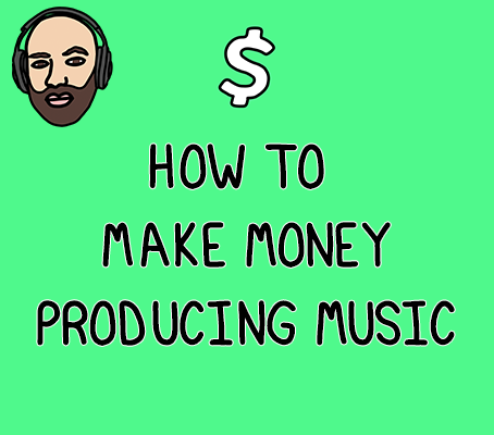 How to make money producing music - income streams for independent musicans